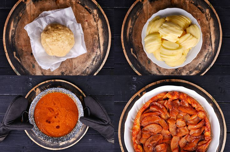 Francia almatorta (tarte tatin) húsvétra – lépésekben