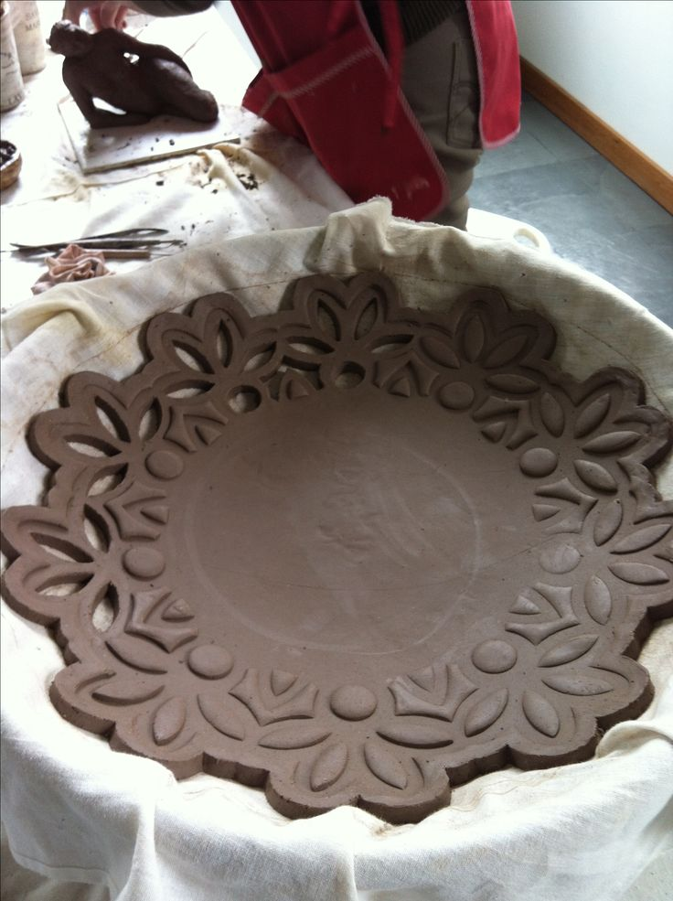 slab bowl. you know how to do this. Easy but very pretty