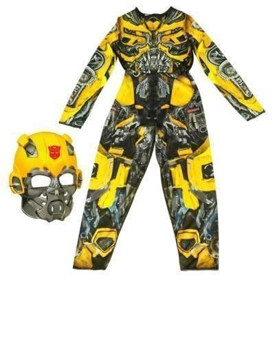 Transformers Dark of the Moon Bumblebee Robo Power Halloween Costume Size Med M #Hasbro #MaskandJumpsuit
