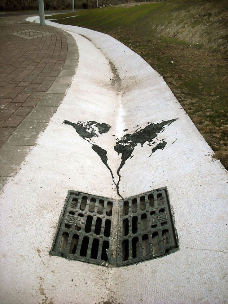 25 Powerful Pieces Of Street Art That Tell The Painful Truth
