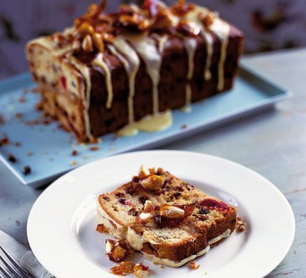 Delicious and easy Easter simnel loaf cake @ BBC Good Food