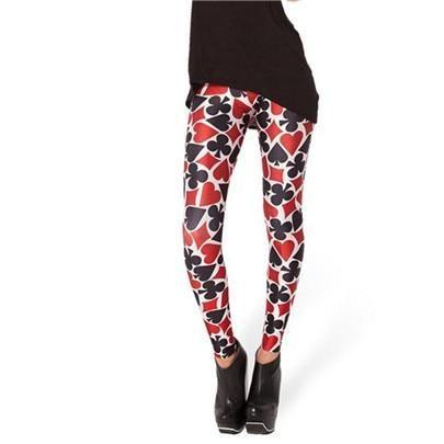 3D Printed Leggings Women Printing Pants Trousers Elasticity Leggins Workout Fitness Legging Breathable Plus Size Pants 4Xl K133