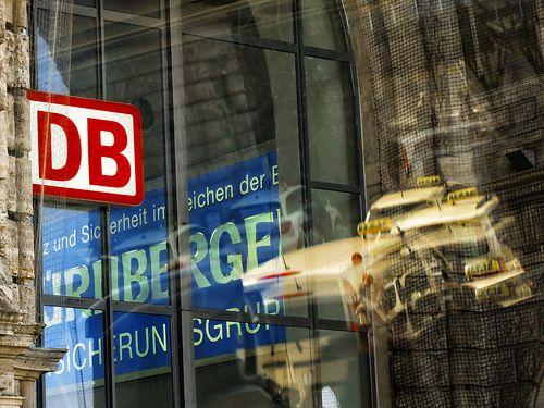 Nürnberg Hauptbahnhof Reflections