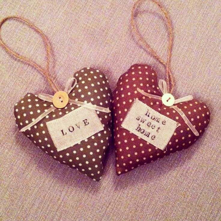 77 best Fabric hearts images on Pinterest | Fabric hearts, Fabric ...