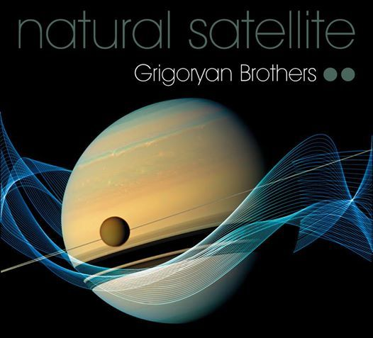 Rodney Pike Design Corporate identity: Natural Satellite. Music meets science in this special concert featuring the world-renowned Slava and Leonard Grigoryan at the Melbourne Planetarium. Surrounded by Planets and their moons, the guitar duo premiere a new astronomically inspired piece by Stuart Greenbaum. Another Rodney Pike Design