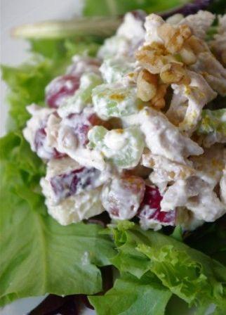 Skinny Chicken Waldorf Salad