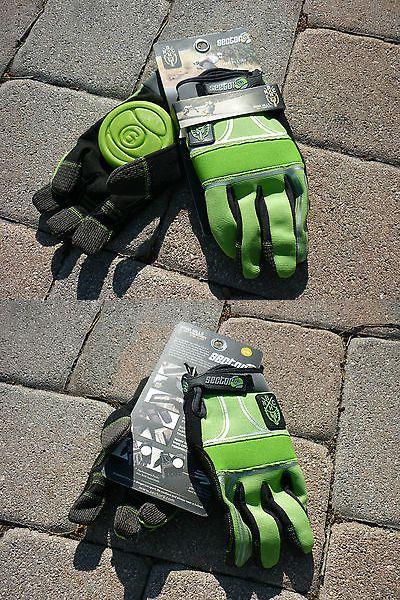 Wheels 165946: New Sector 9 Green Bhnc Slide Gloves Longboard Skateboard Small Medium Sm Md -> BUY IT NOW ONLY: $34.99 on eBay!