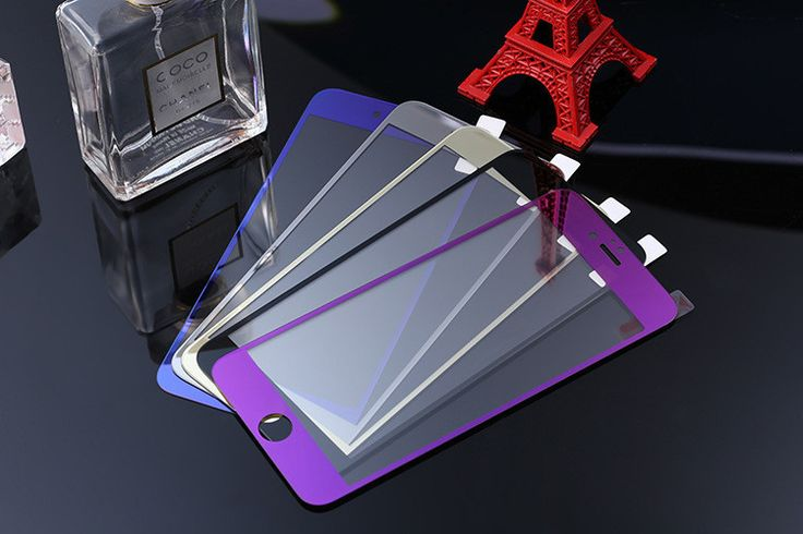 1/pcs Front Premium Plating Mirror Colored Tempered Glass for iphone 4 4s 5 5s 6 6s 4.7 inch Full Screen Protector film #clothing,#shoes,#jewelry,#women,#men,#hats,#watches,#belts,#fashion,#style