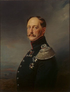 Tsar Nicholas I Born 6 July 1796 Gatchina, Russian Empire M. Princess Charlotte of Prussia 13 July 1817 7 children. Reigned 1 December 1825 to 2 March 1855. Died 2 March 1855, St. Petersburg, Russian Empire