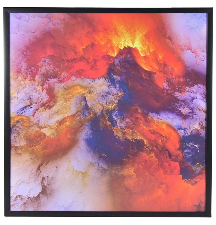 Volcano Framed Print - Matt Blatt