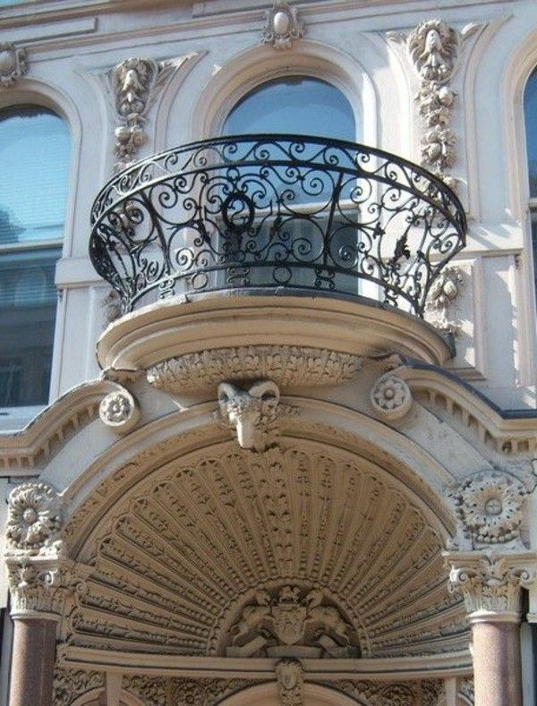 Outdoor : Circular French Balcony Style And Decor French Balcony Ideas For  Romantic Home Decor! Part 44