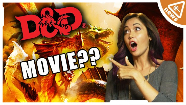 New DUNGEONS AND DRAGONS Movie Speculation! (Nerdist News w/ Jessica Chobot)
