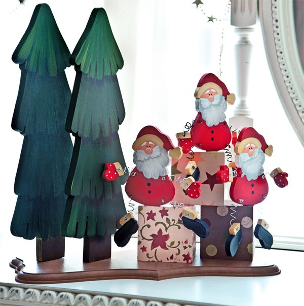 Papai Noel em MDF / DIY, craft