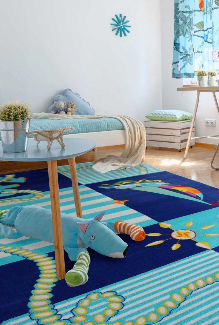 kinderteppichblau3001 Teppich kinderzimmer