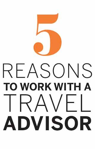 Learn the 5 reasons and read stories from real travelers that illustrate the value of working with a Virtuoso travel advisor.
