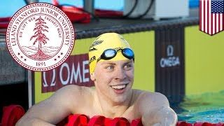 A former Stanford University freshman and the star of the university's swim team is facing rape charges after he was caught sexually assaulting an unconscious woman on Tuesday.  The suspect, Brock Allen Turner, 19, was a three-time All-American high school swimmer in Dayton, Ohio, and joined Stanford's swim team last year.  Turner reportedly met the victim, who was not a student, at a party in the area near fraternities and campus housing.  At around 1 a.m. on January 18, two cyclists saw…