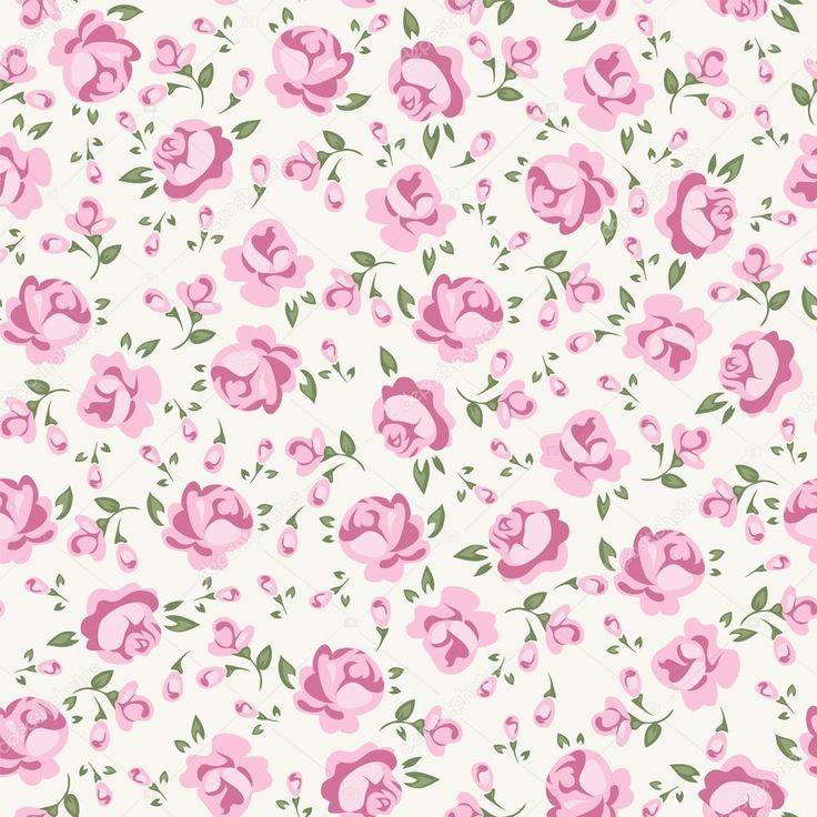 Baixar - Shabby chic rosa — Ilustração de Stock #14499451
