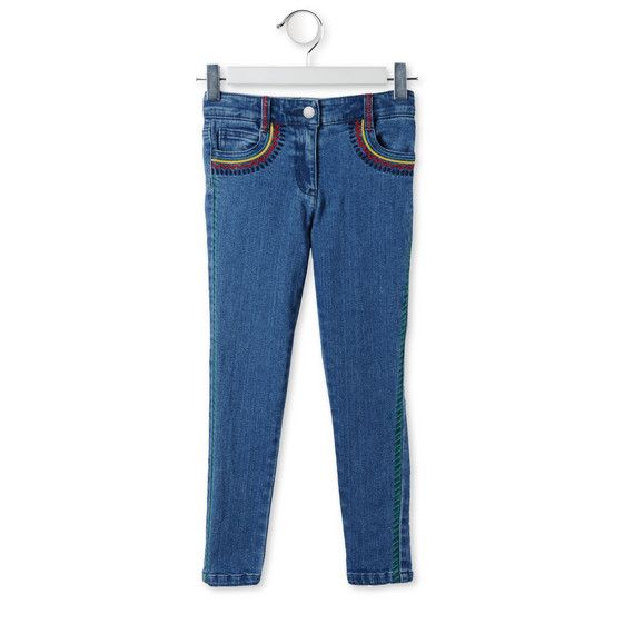 Shop the Zig Zag Nina Jeans by Stella Mccartney Kids at the official online store. Discover all product information.