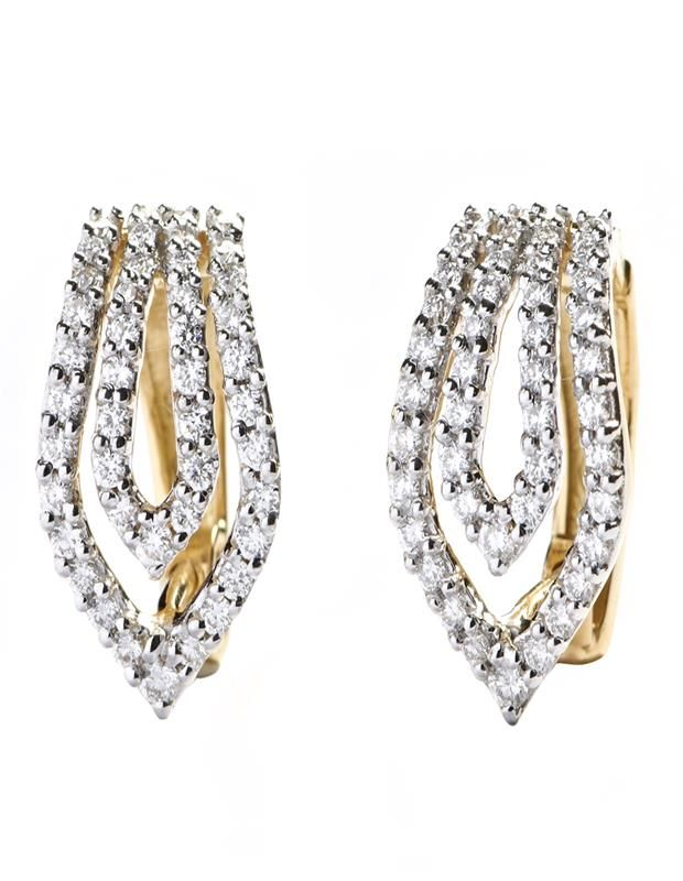 05a7c3a4ffb Daily Wear Diamond Earring are Trendy and sweet diamond earrings for daily  wear  diamonds  jewellery  Diamond jewellery  Trendy earrings