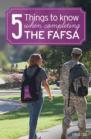 5 Things to Know When Completing the #FAFSA #college