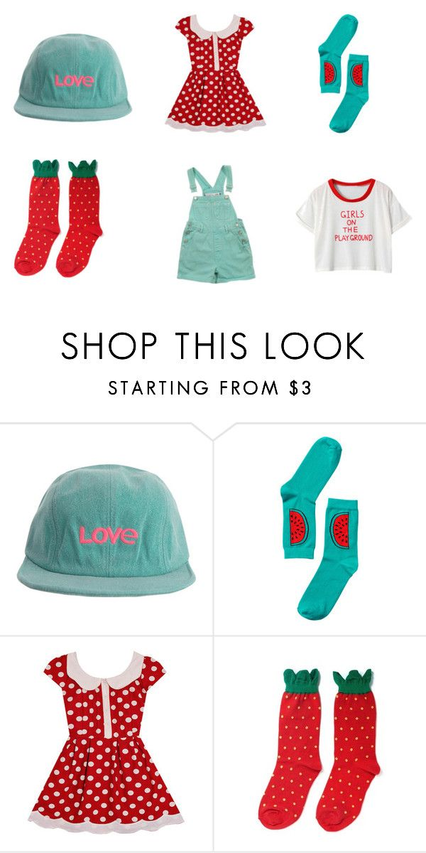 melonberry by peachnim on Polyvore featuring Chicnova Fashion, Hansel from Basel…