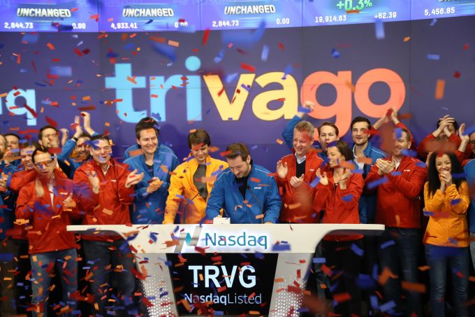 Trivago closes up 8% in public debut