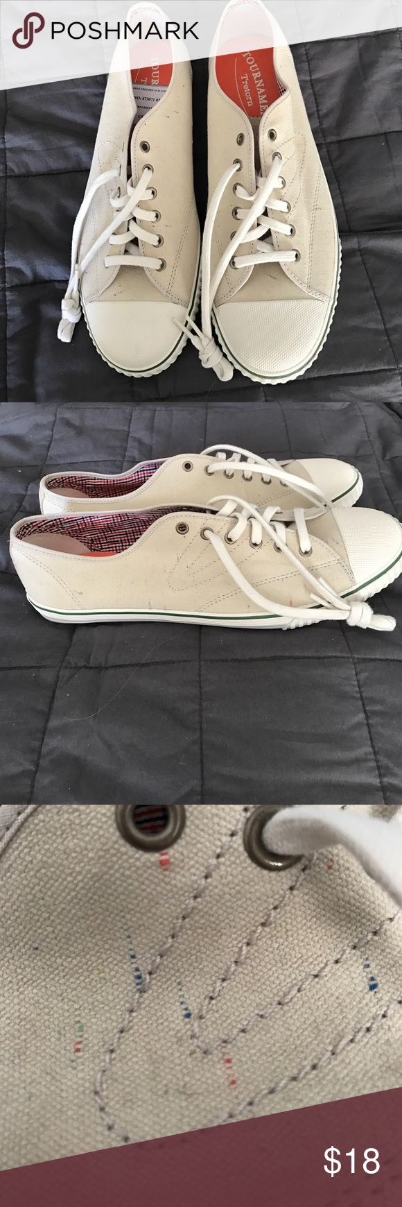 🎾NWOT Tretorn 🎾 Men's Casual Sneakers 🎾NWOT Tretorn 🎾 Men's Casual Sneakers. Never worn, purchased from sample sale. Cool multi colored stitching. Tretorn Shoes Sneakers
