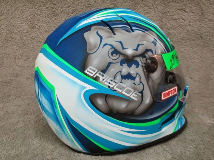 Racing Helmets Garage: Simpson