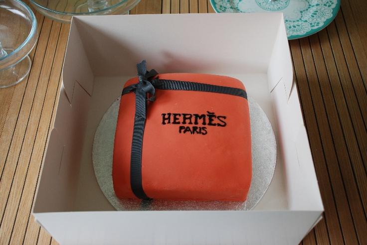 The Hermes Cake