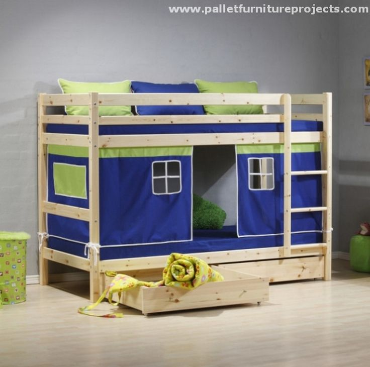 Pallet Bunk Bed Projects