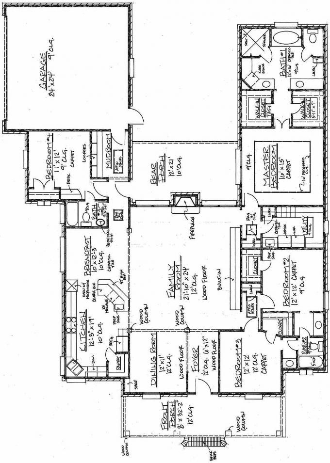#653396 - Acadian House Plan with Spacious Family room : House Plans, Floor Plans, Home Plans, Plan It at HousePlanIt.com