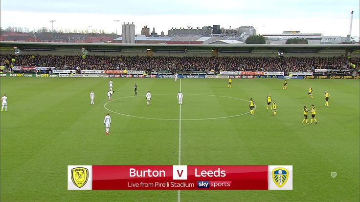 goals EFL Championship 17/18 - Burton Albion vs. Leeds United - 26/12/2017 Full Match