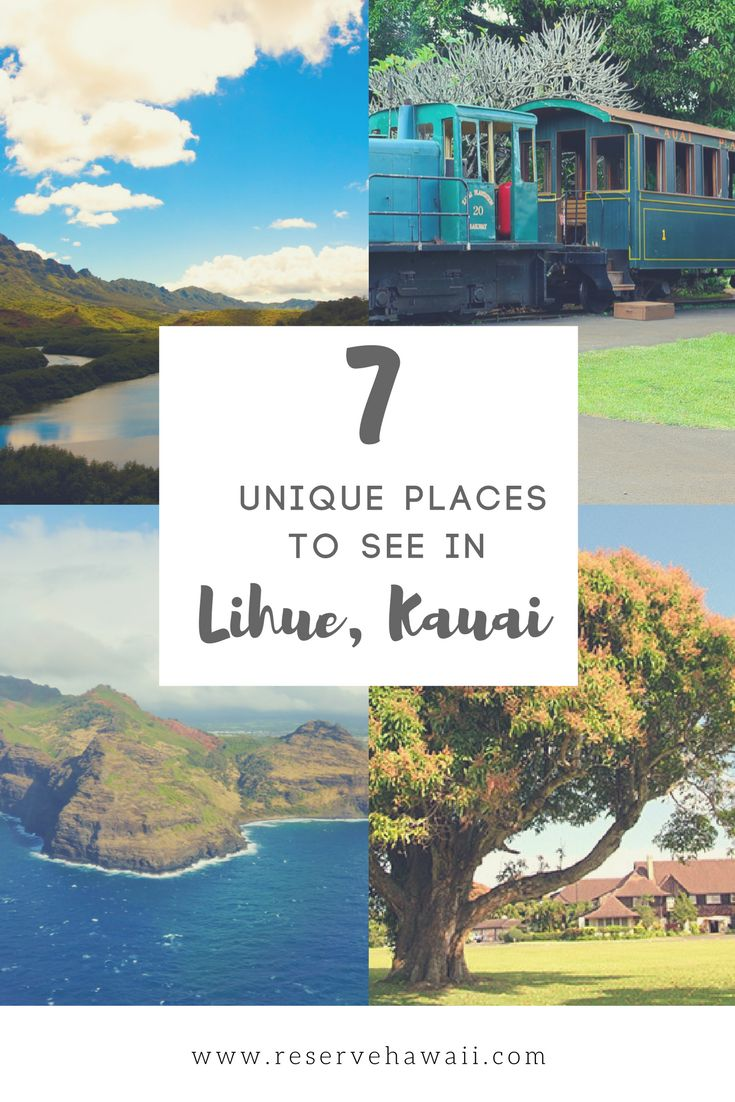 7 unique places to see in lihue kauai