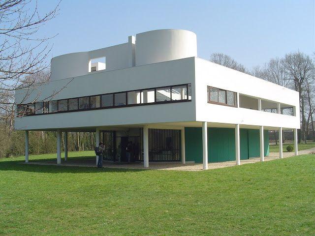 89 best ARCH Villa Savoye; Poissy; Le Corbusier images on ...