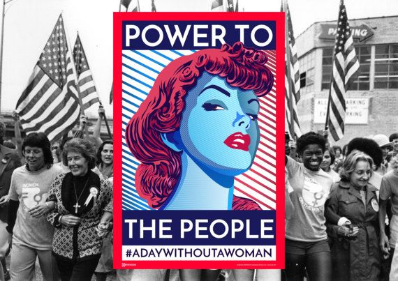 SPECIAL EDITION FOR INTERNATIONAL WOMEN´S DAY!!! POWER TO THE PEOPLE POSTER! Get your print right now!! ►Print and March! ►►Print and protest! ►►►Print and fight for your rights! ►►►►March with your poster! ..............................................................................