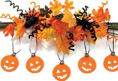 #Halloween: une décoration facile à réaliser #deco #diy #citrouille