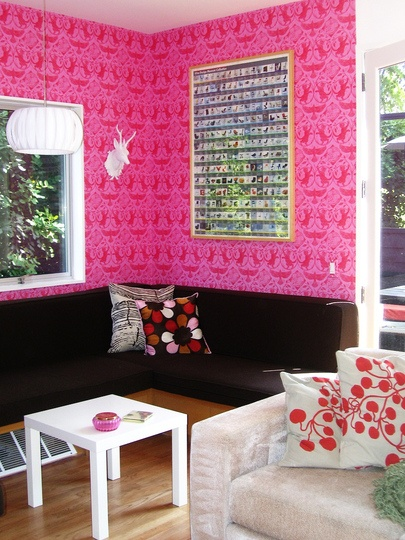 15 best pink living room images on Pinterest | Home ideas, Living ...
