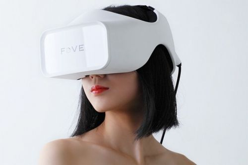 Futuristic Gadget, FOVE, Eye Tracking Virtual Reality Headset, Future Technology, Futuristic Games, Sci-Fi Girl
