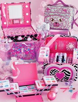 Cheetah Sequin Mega Make-up Kit
