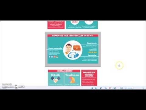 ¿Cómo hacer un curriculum vitae online con plantillas?