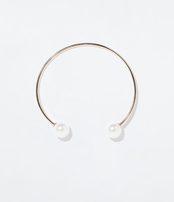 Image 1 of CHOKER WITH PEARLS from Zara