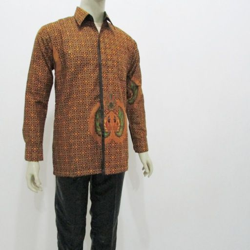 Butik pakaian batik online murah di solo jual aneka model baju batik pria lengan panjang
