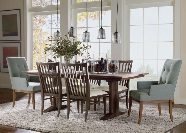 Olive Leaf And Magnolia Bud Mix   Ethan Allen. Extension Dining TableWing  ChairsEthan ...