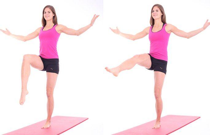 Übung 2: Der Unterschenkelstrecker - Problemzone Beine? Die besten Übungen für…