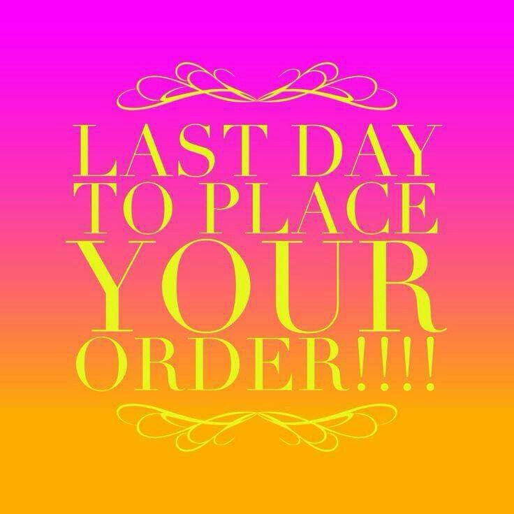 Campaign 14 Orders Are Due Now :) Contact Me Or Order