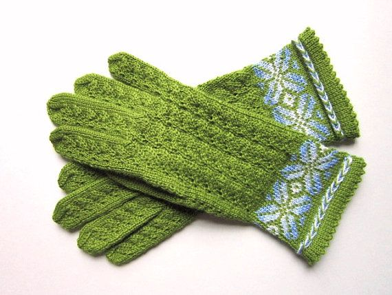 Wool Gloves  by AnitasHandmade , etsy.com