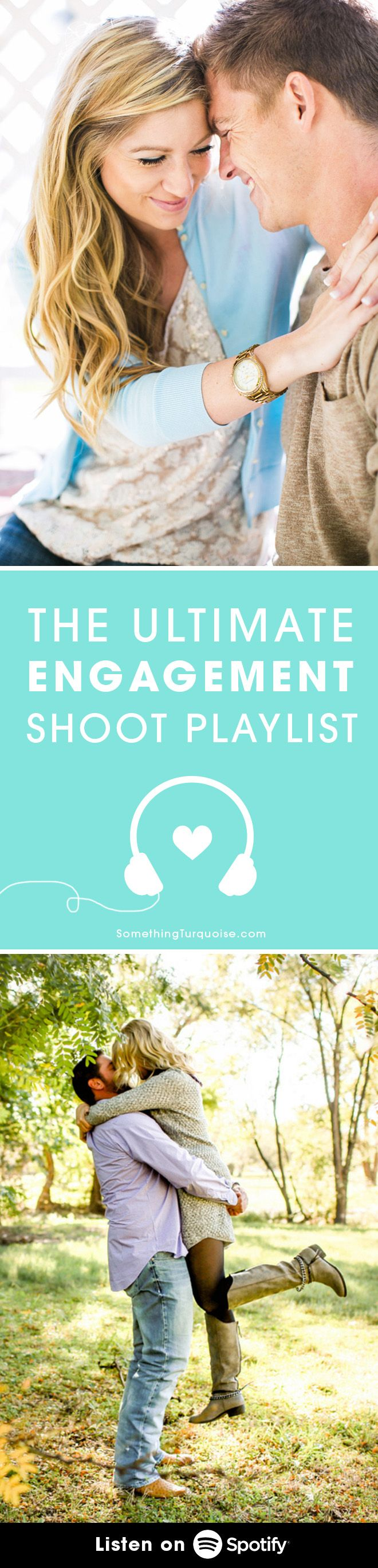 The Ultimate Playlist for your Engagement Shoot, listen for free on Spotify!