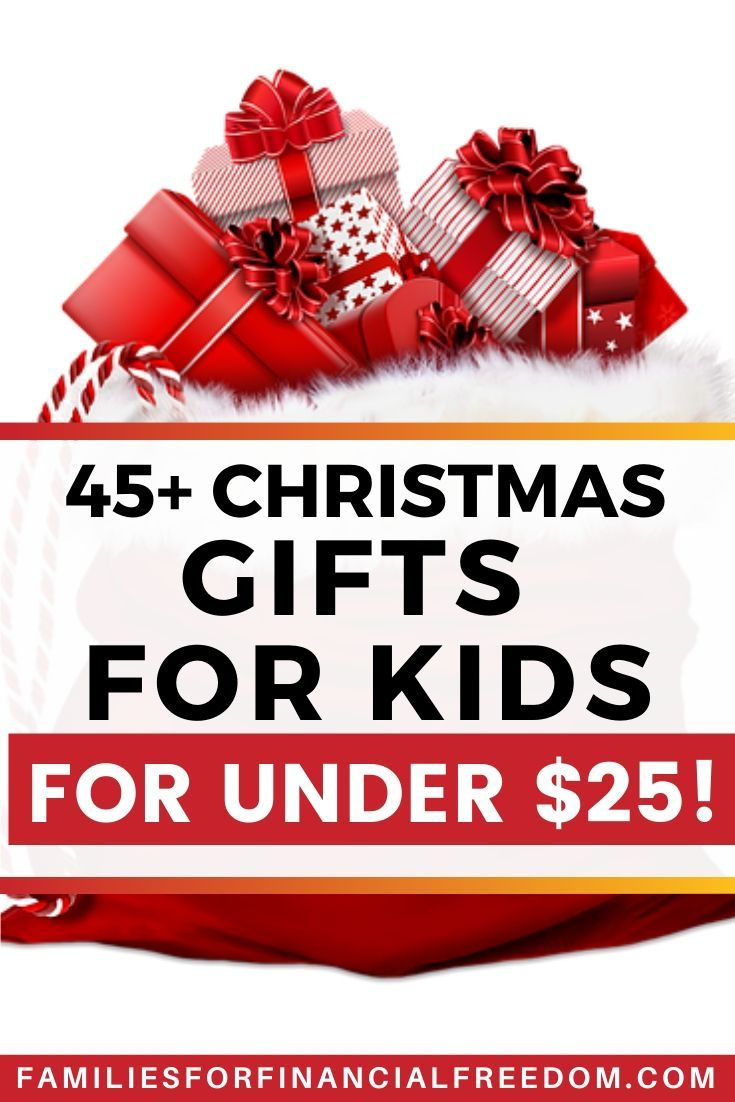 I love these Christmas gifts for kids for under $25! Great ...