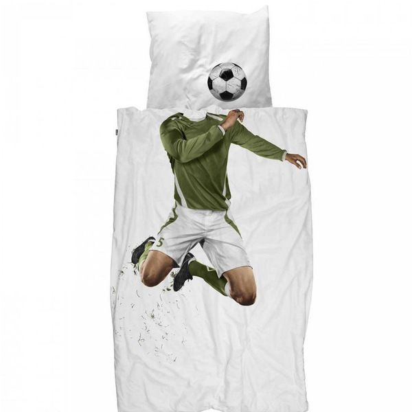 Snurk Soccer Champ Single Doona | Krinkle Gifts
