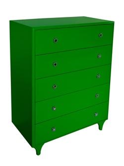 mama green dresser: Green Dresser, Green Right Jen, Filing Cabinets, Lime Green, Mama Green